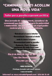 Taller per a parelles esperant un fill - 21 de Març a Granollers